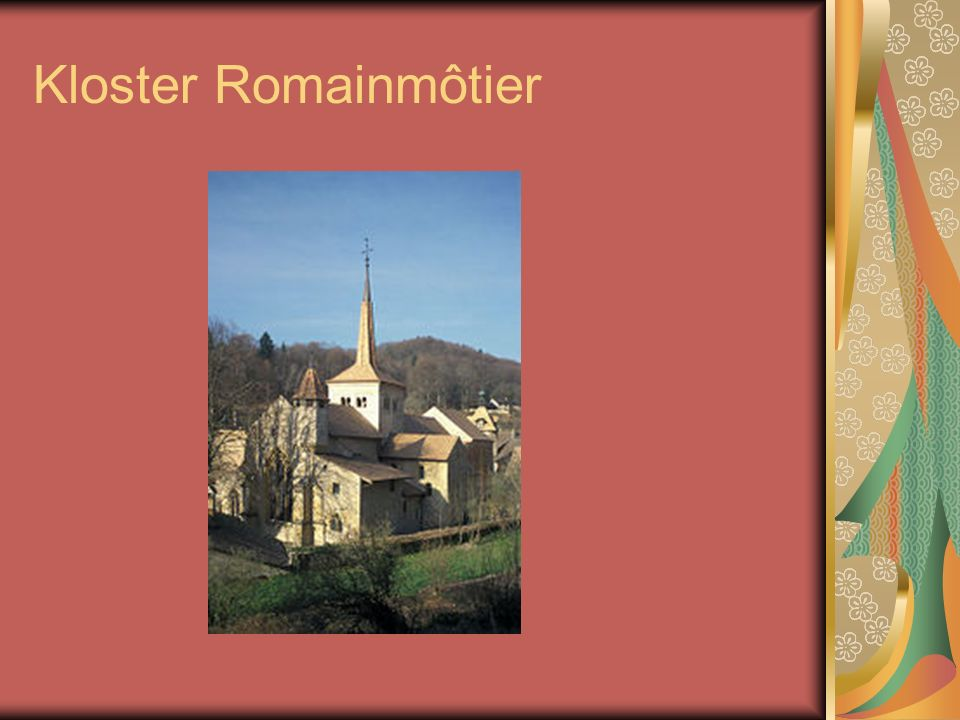 Kloster Romainmôtier