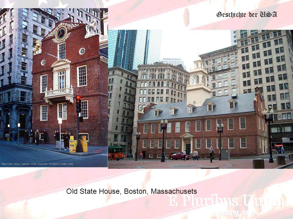 Geschichte der USA Old State House, Boston, Massachusets