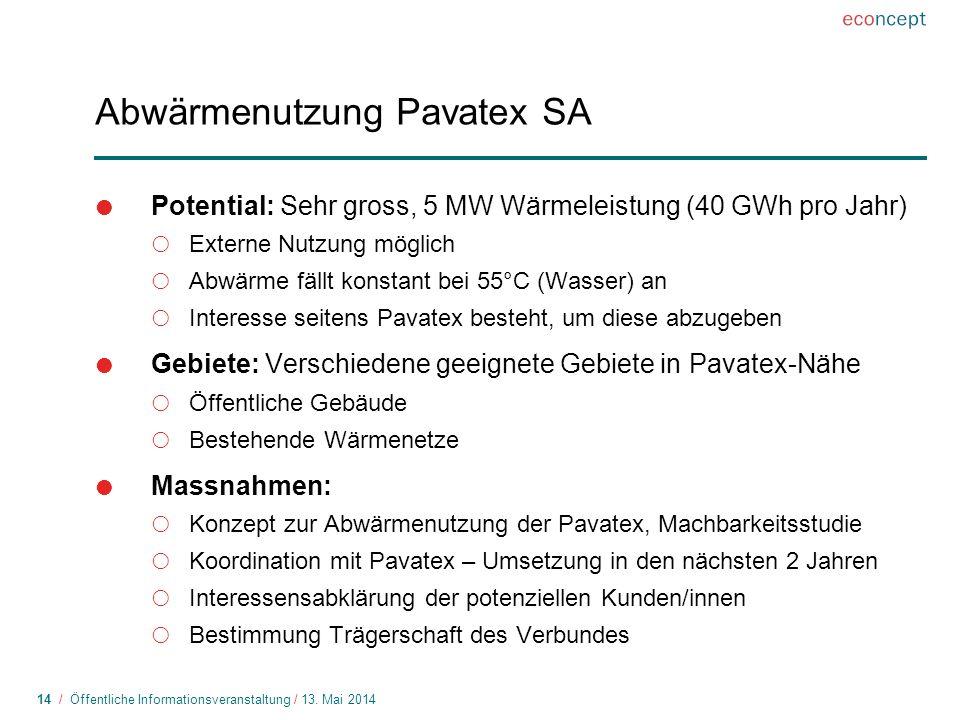 14 / Öffentliche Informationsveranstaltung / 13.