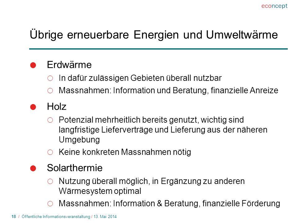 18 / Öffentliche Informationsveranstaltung / 13.