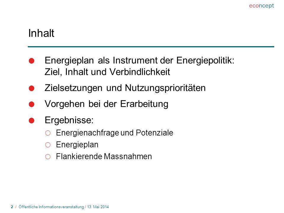 3 / Öffentliche Informationsveranstaltung / 13.