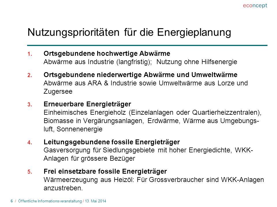 6 / Öffentliche Informationsveranstaltung / 13.