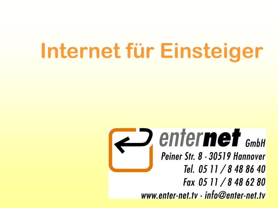 Das Internet das weltweit größte Rechnernetz ungeplant und unstrukturiert unübersichtliche Verbindung einzelner Rechner und kleinerer und größerer Rechnernetze Bereitstellung von Dienstleistungen und Informationen durch kommerzielle Betreiber, staatlichen Einrichtungen oder engagierten Internet-Nutzern