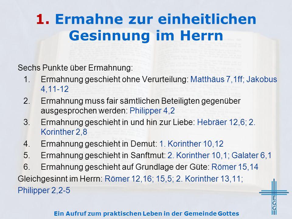2.Stehe den Eingetragenen im Kampf bei Das Joch: Matthäus 11,29-30; 2.