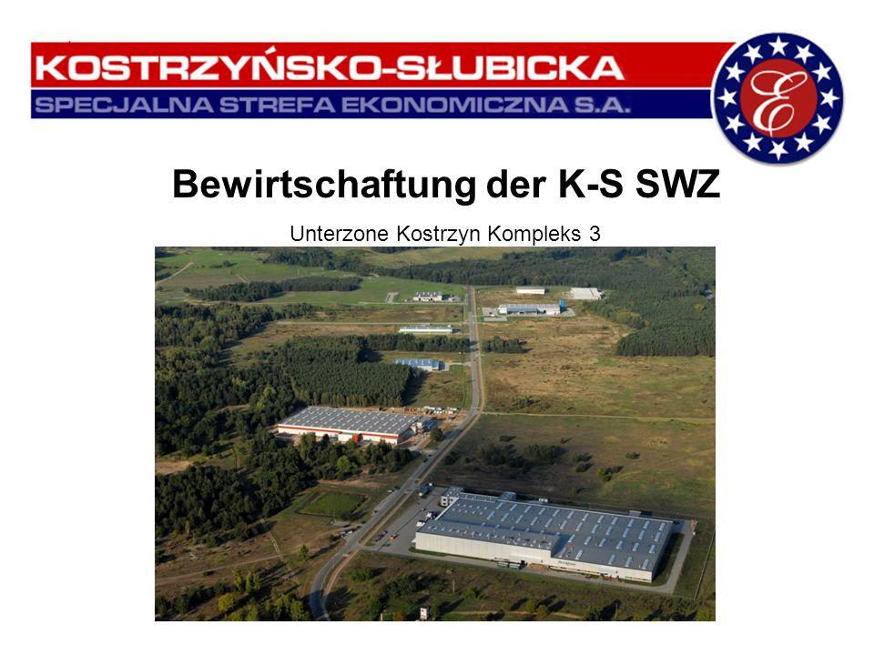 Bewirtschaftung der K-S SWZ Unterzone Kostrzyn Kompleks 3 Gubin, 18. September 2009
