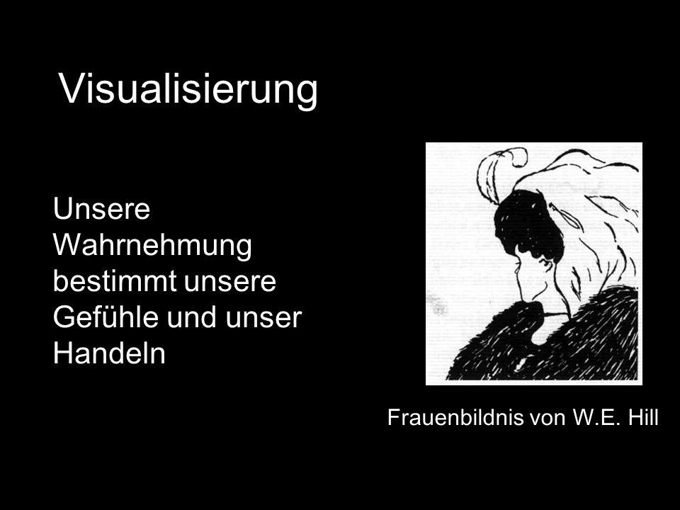 Visualisierung Frauenbildnis von W.E.