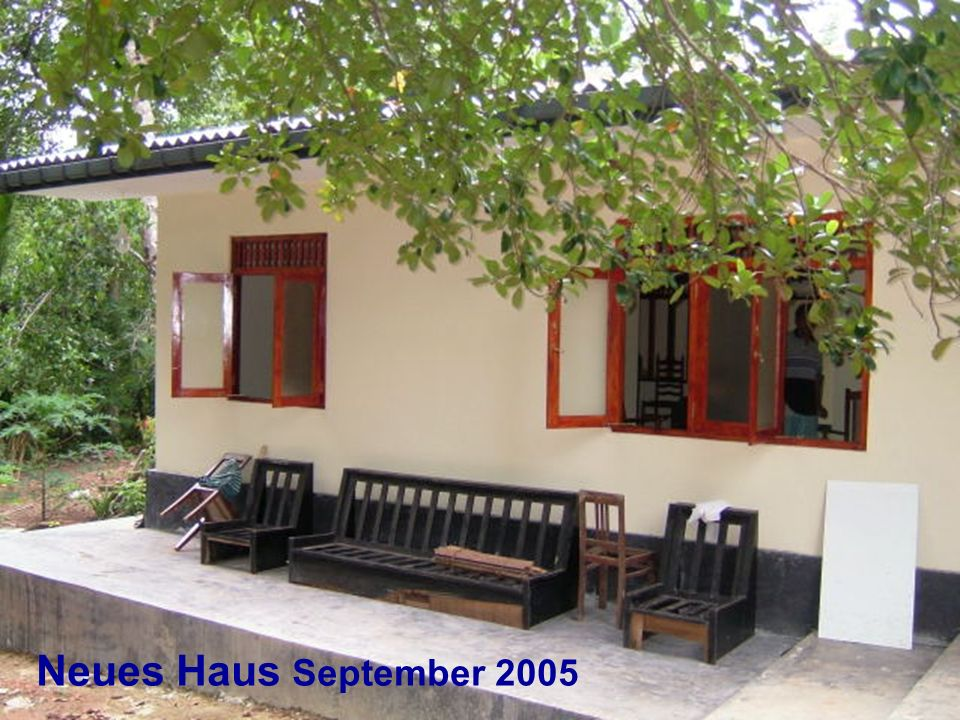 Neues Haus September 2005