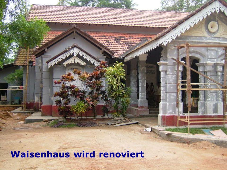 Waisenhaus Waisenhaus wird renoviert