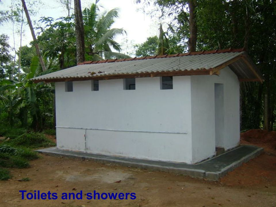 Toilets and showers
