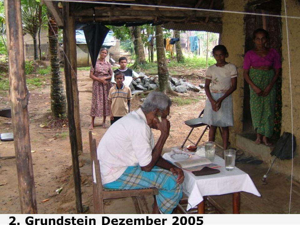 2. Grundstein Dezember 2005