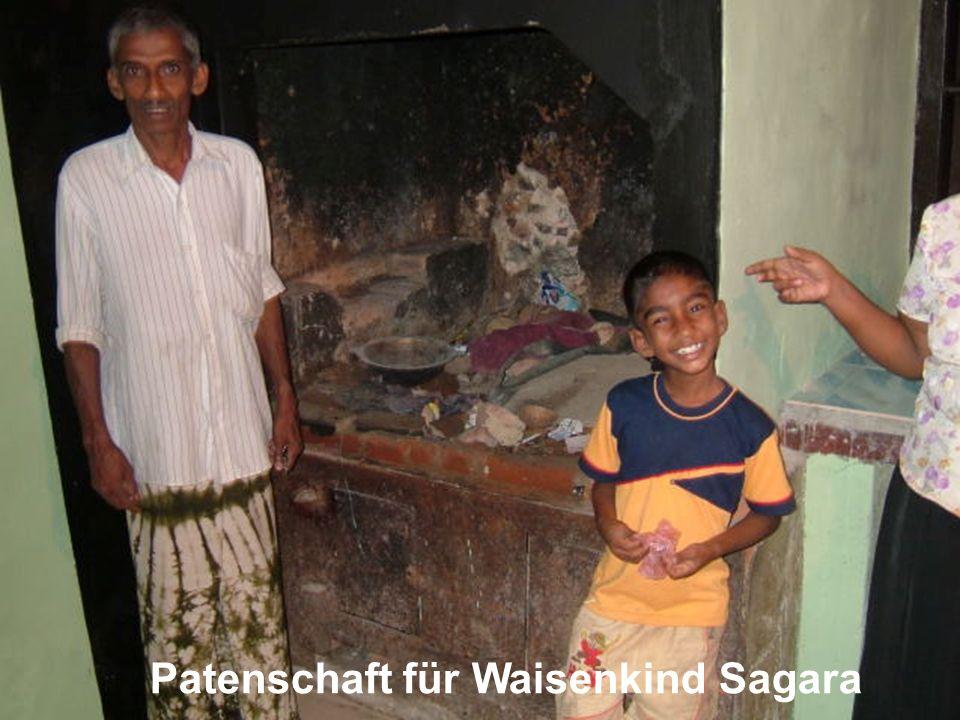 Patenschaft für Waisenkind Sagara