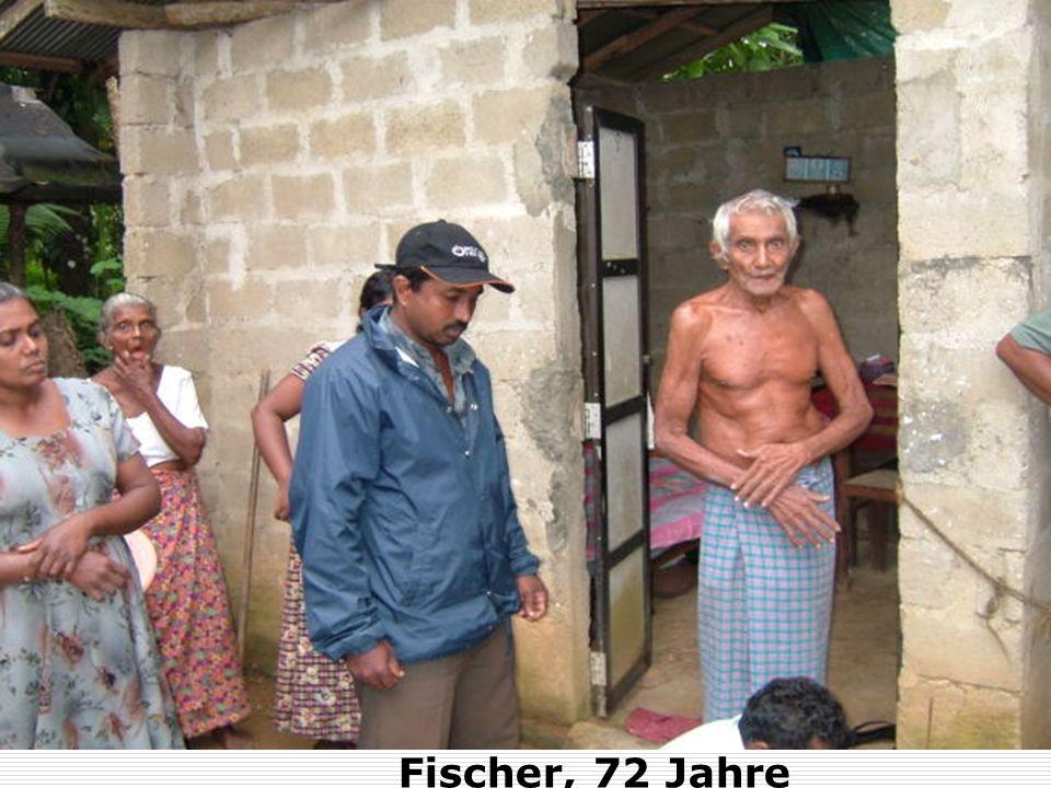Fischer, 72 Jahre