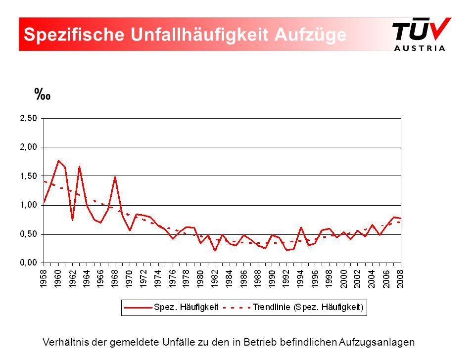 Aufzugssicherheitsdefizite 2008