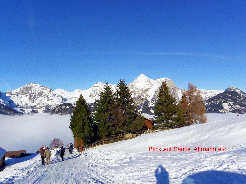 Blick auf die Vorarlberger Berge