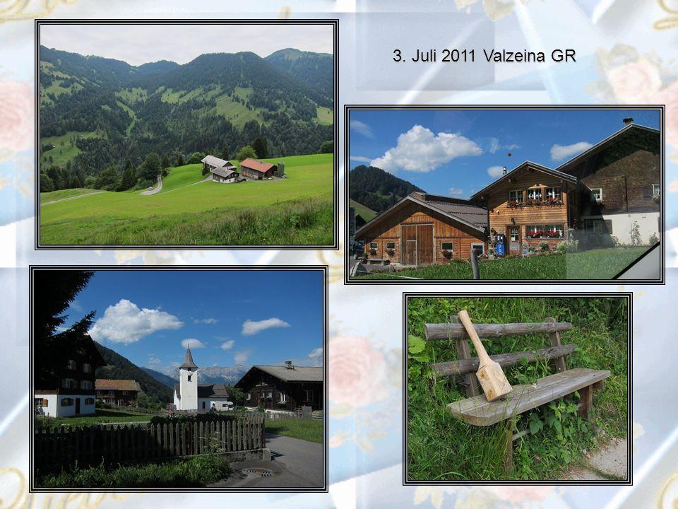 3. Juli 2011 Valzeina GR