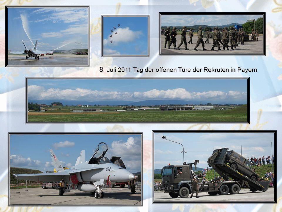 8. Juli 2011 Tag der offenen Türe der Rekruten in Payern