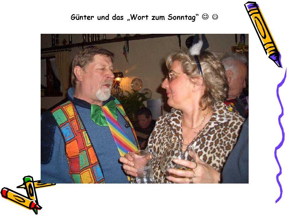 Günter und das Wort zum Sonntag