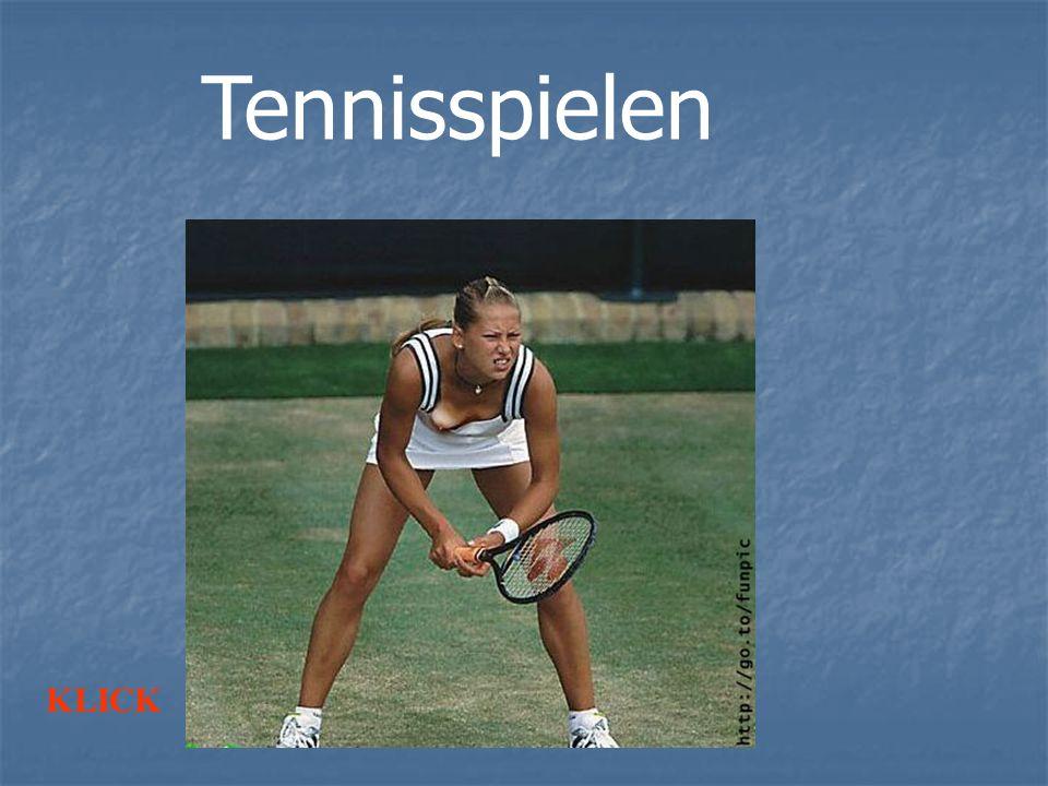 Tennisspielen KLICK