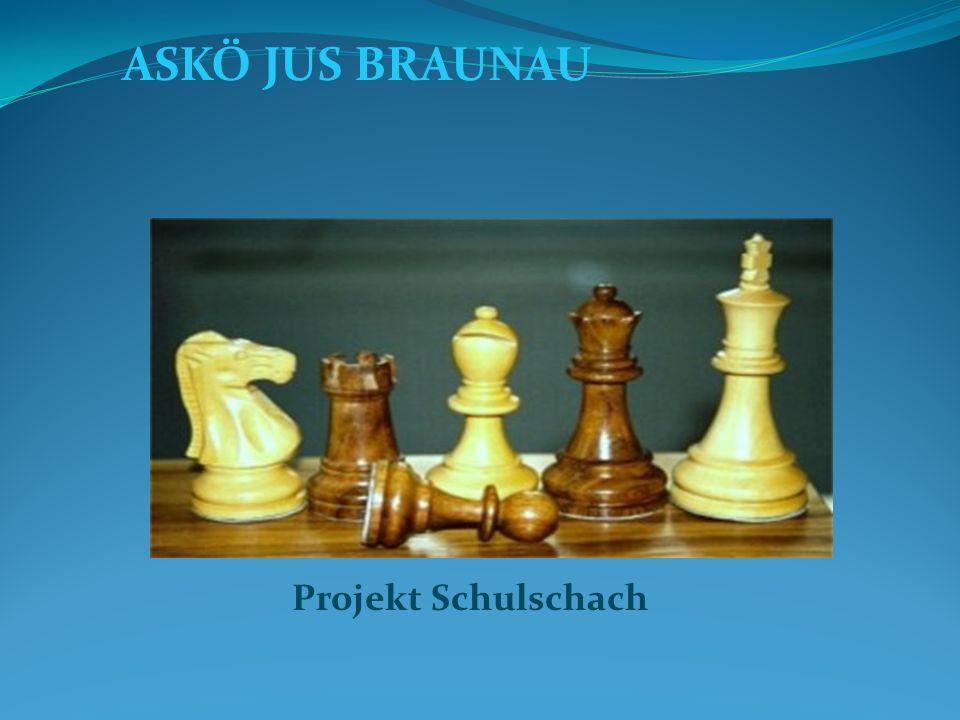 ASKÖ JUS BRAUNAU Projekt Schulschach