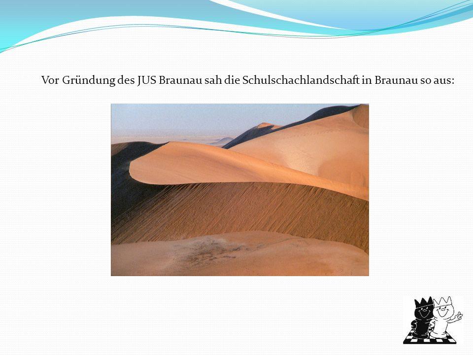 Vor Gründung des JUS Braunau sah die Schulschachlandschaft in Braunau so aus: