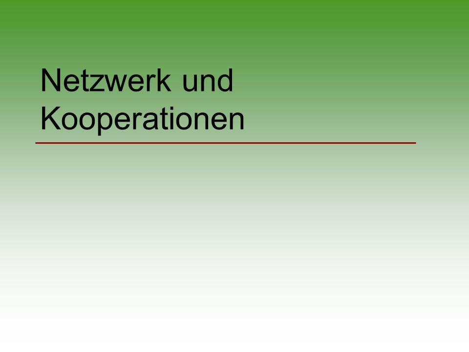 Netzwerk und Kooperationen