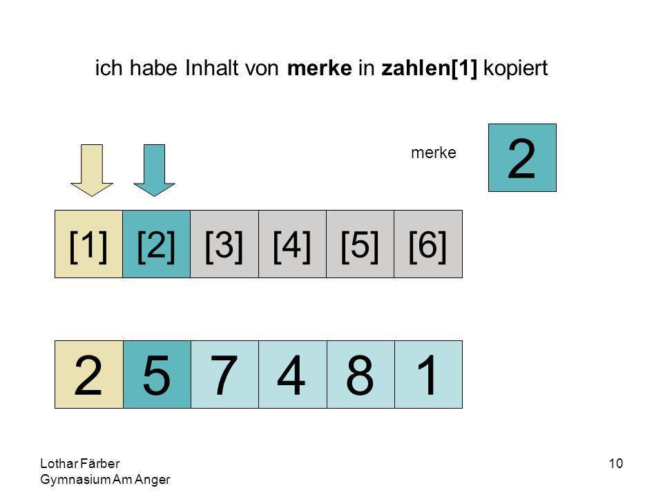 Lothar Färber Gymnasium Am Anger 10 ich habe Inhalt von merke in zahlen[1] kopiert 257481 [1][2][3][4][5][6] merke 2
