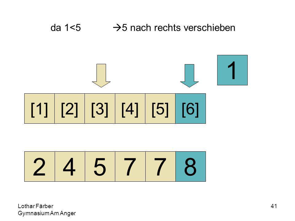 Lothar Färber Gymnasium Am Anger 41 da 1<5 5 nach rechts verschieben 245778 [1][2][3][4][5][6] 1