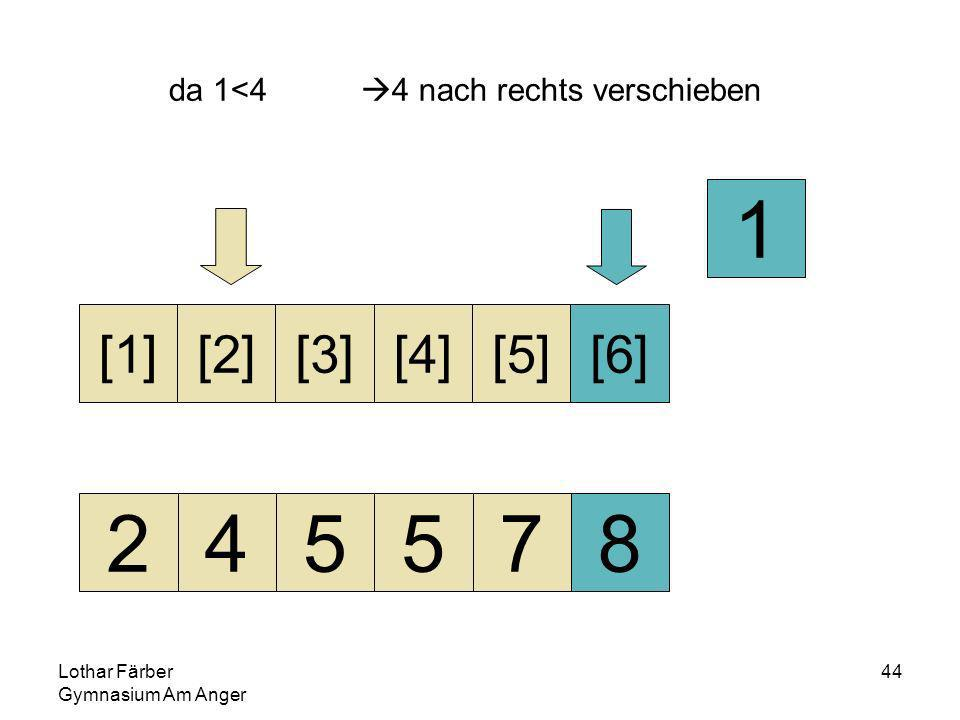 Lothar Färber Gymnasium Am Anger 44 da 1<4 4 nach rechts verschieben 245578 [1][2][3][4][5][6] 1