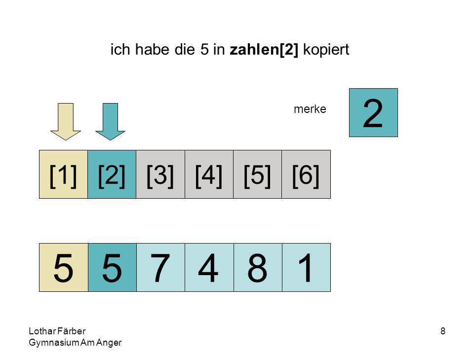 Lothar Färber Gymnasium Am Anger 39 ich habe die 7 in zahlen[5] kopiert 245778 [1][2][3][4][5][6] 1