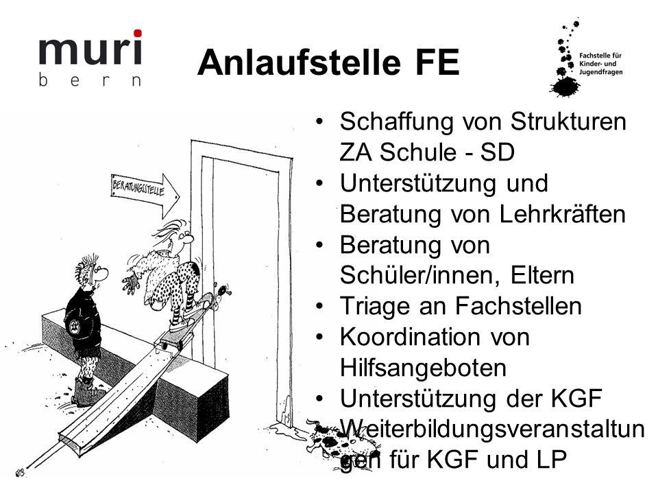 Strukturen FE Vormundschafts- kommission Kommission für Schule u.