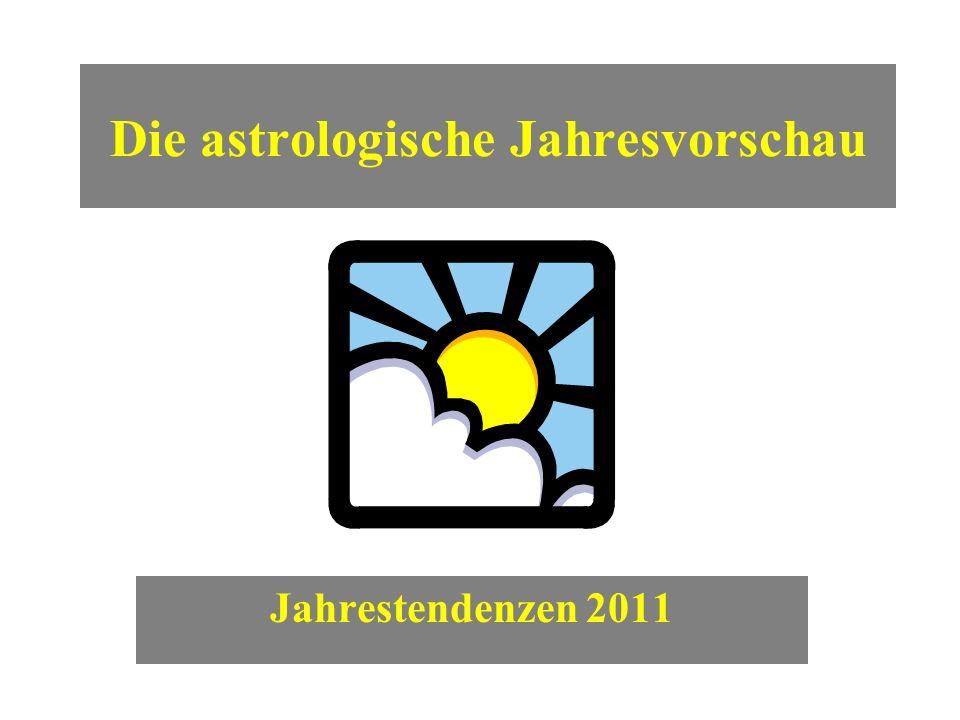 Die astrologische Jahresvorschau Jahrestendenzen 2011