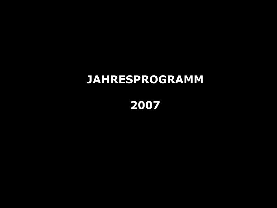 JAHRESPROGRAMM 2007