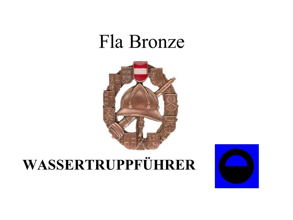 Fla Bronze WASSERTRUPPFÜHRER