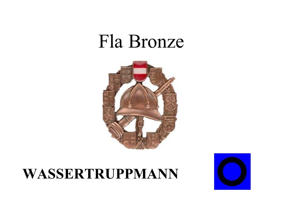 Fla Bronze WASSERTRUPPMANN