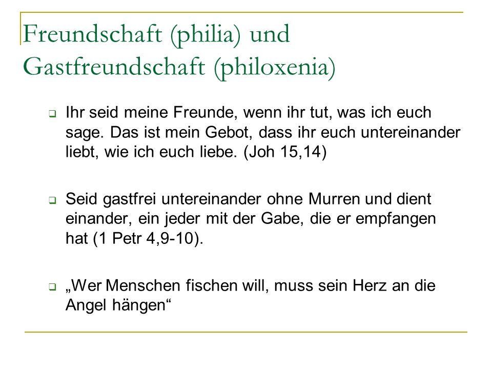 Das wusste schon Johann Wolfgang Wie fruchtbar ist der kleinste Kreis wenn man ihn nur zu pflegen weiß J.W. von Goethe