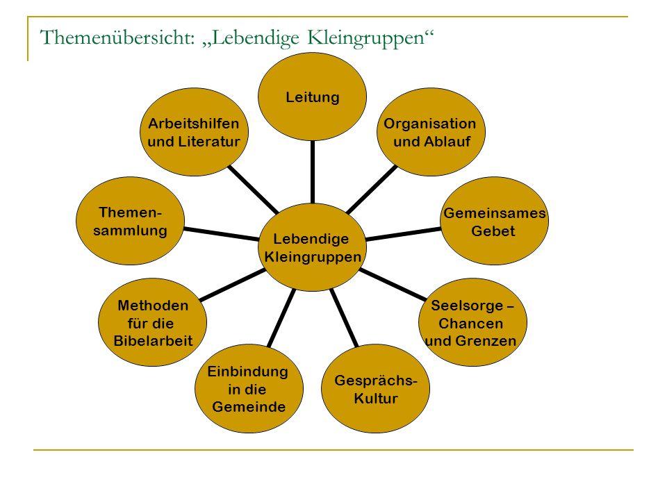 Unterschiedliche Strukturen Modell Stein auf Stein Klare Leitung, klares Ziel, klare Regeln Volle Unterstützung und Einbindung in Gemeinde Modell Senf