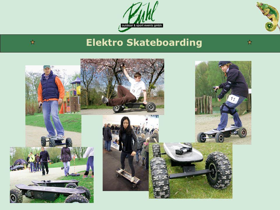 Elektro Skateboarding