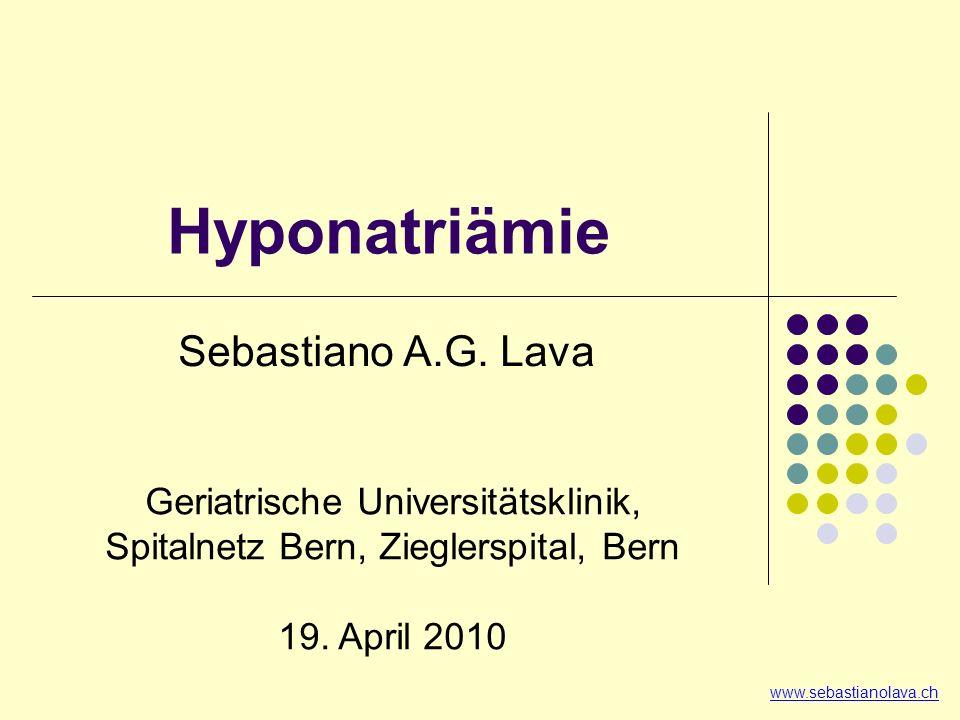 2. Volumen 3. Urin-Konz. (U-Osm. bzw. U-Na+) 1. Osmolalität