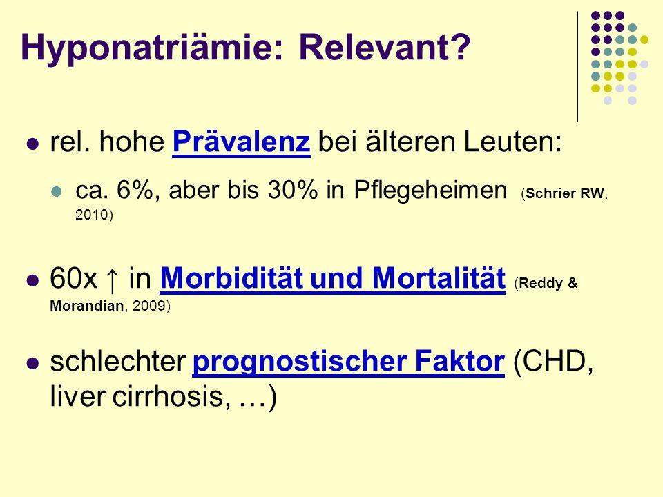 Physiologie 1: Kompartmente : 50% KG : 60% KG Alter: Fett, H 2 O %- H 2 O : Intrazell.Extrazell.