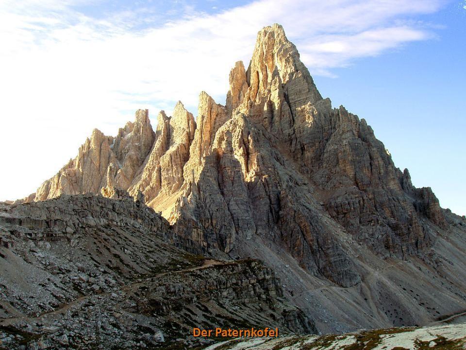 Der Monte Cristallo mit Dürrensee