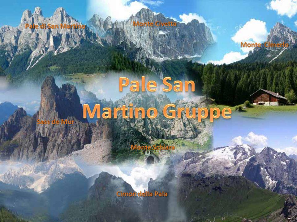Die Marmolata 3343m, höchster Berg der Dolomiten