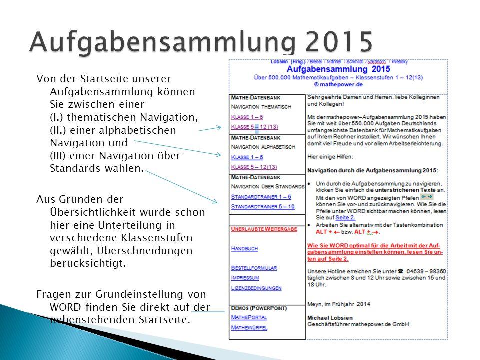 (I) Thematische Übersicht Klasse 1 – 6 Eure Software - ein echter Wahnsinn.