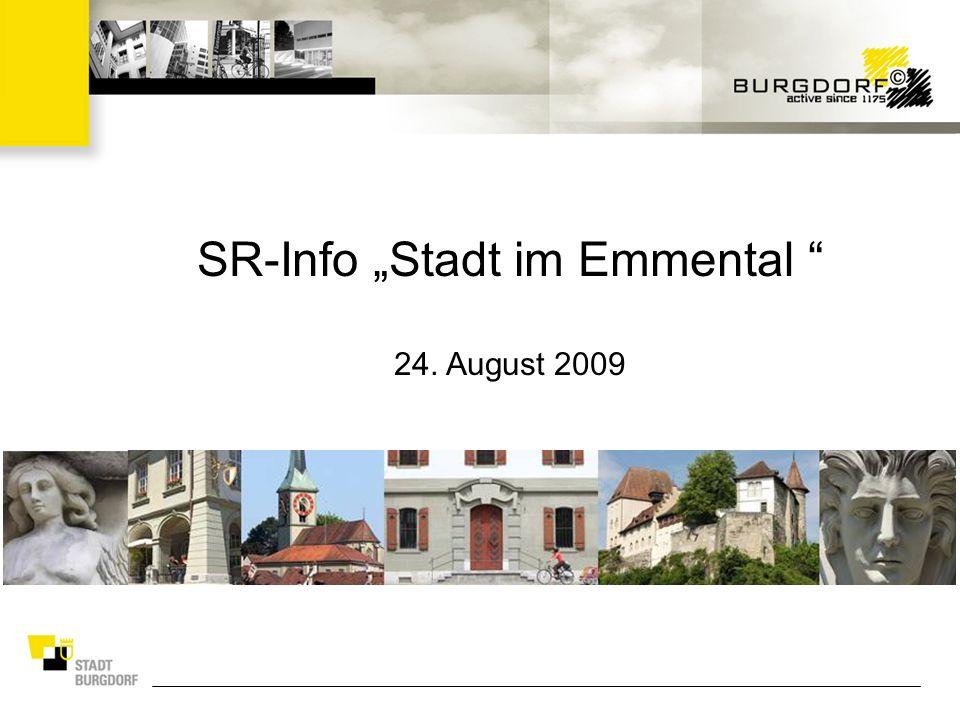 SR-Info Stadt im Emmental 24. August 2009