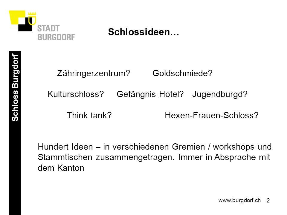 3 Schloss Burgdorf www.burgdorf.ch Aber wie realisieren.