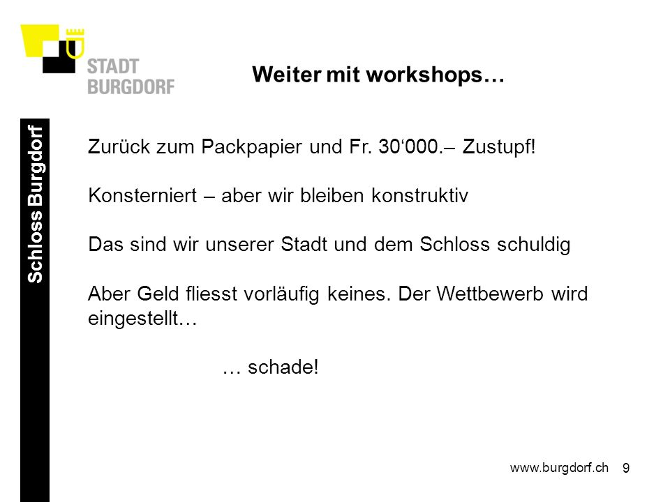 10 Campus Burgdorf www.burgdorf.ch Ein Campus für Burgdorf – Unsere Fachhochschule baut aus Burgdorf hat Potenzial.