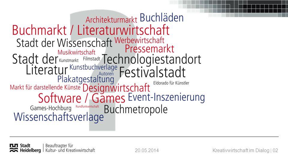 20.05.2014Kreativwirtschaft im Dialog | 02