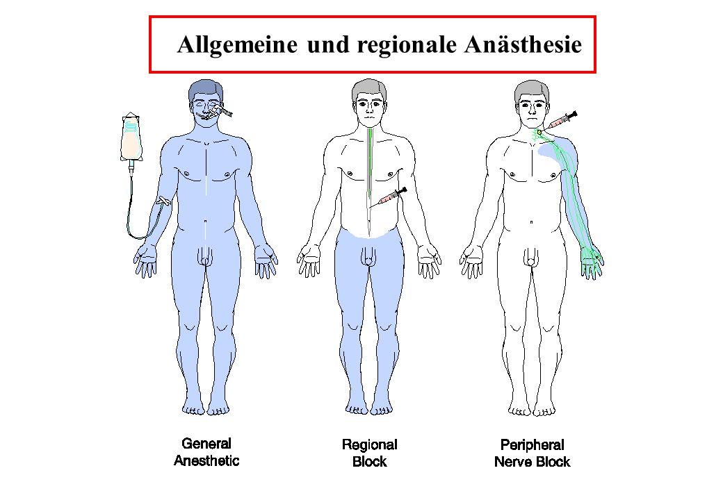 Allgemeine und regionale Anästhesie