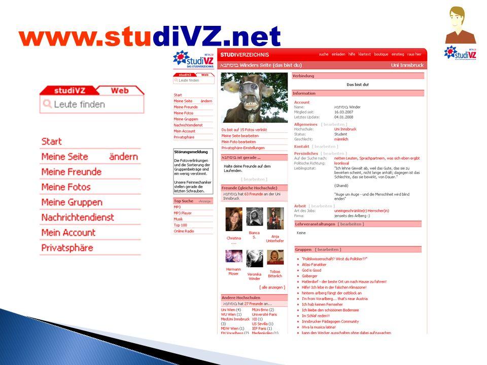 www.studiVZ.net