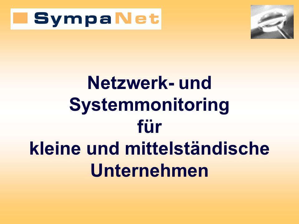 Ihr Netzwerk Ihr Betreuer OK Kritischer Zustand Warnung Meldung SympaNet