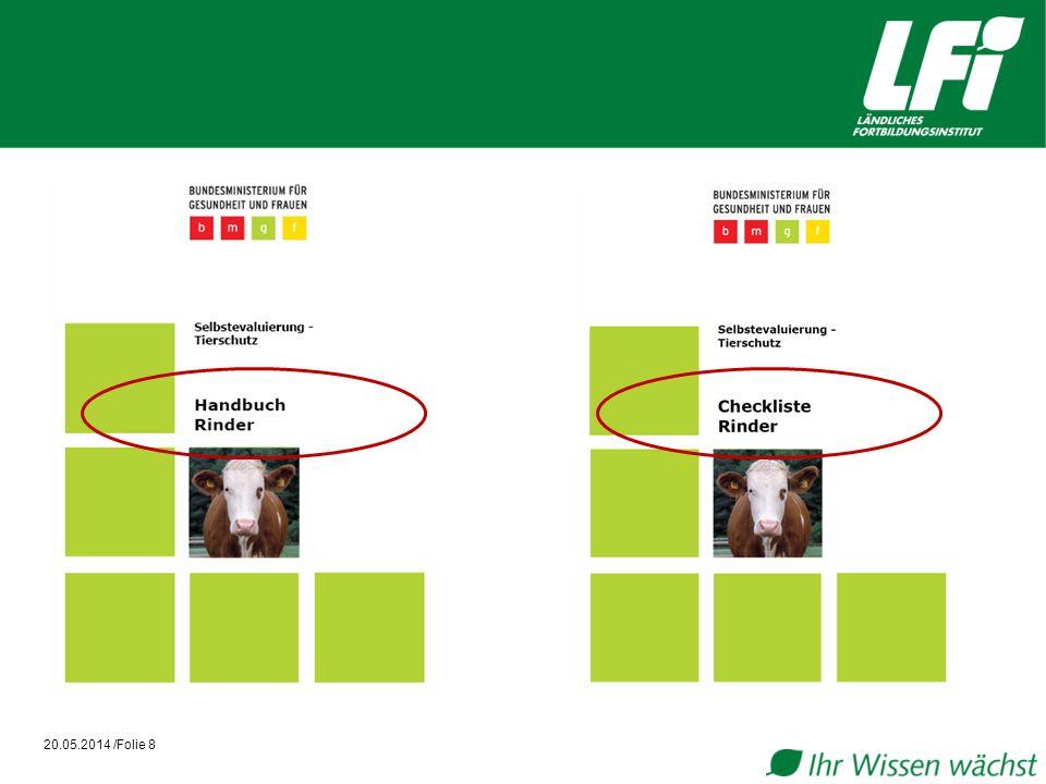 Anwendungshinweise Checkliste I 20.05.2014 /Folie 9